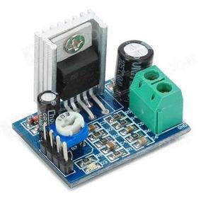 Placa Montada Módulo De Amplificador Mono Com Ci Tda2030