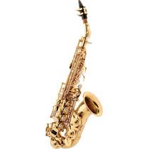 Sax Soprano Eagle Sp508 Curvo C/ Case Loja Cheiro De Música