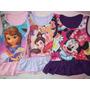 Vestido Remeron Modal Minnie Princesas Sofia Monster High