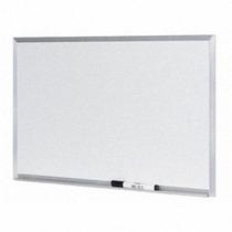 Lousa Quadro Branco Moldura De Aluminio 80 X 100 Cm Brindes