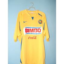 Jersey De Utileria Amarillo Marca Nike Equipo America L