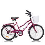 Bicicleta Nena Rodado 20 Paseo Playera Full Nena Reforzada
