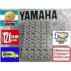 Kit 5 Borrachas Teclado Yamaha Psr180 Psr190 Frete Grátis