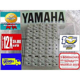 Kit 5 Borrachas Teclado Yamaha Psr B20 Psr195 Frete Grátis
