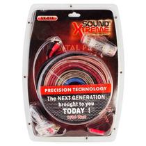 Kit De Potencia 8 Awg Cables Rca Power Fuse 60 Amper Accesor