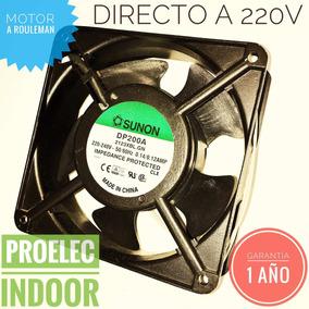 Turbina Cooler Ventilador 4220v Sunon Ruleman Cable Y Ficha