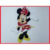 Figura Minnie En Goma Eva. Entrega Inmediata