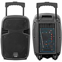 Caixa De Som Amplificada 100w Rms Sd/usb/fm Multilaser Sp241