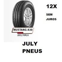 Pneu 265 70 16 Remold Novo Pick-ups Hilux L200 Pajero Novo