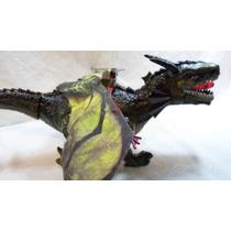 Dragão Dinossauro Eletônico 3d Anda, Acende Olhos, Mexe Boca