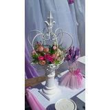 Coronas,decoracion,centro D Mesa,souvenirs,candys-hierros