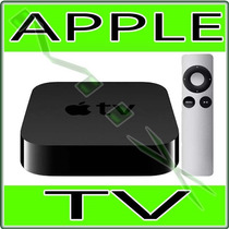 Apple Tv Com Hd De 1080p 3ª Geração Md199bz/a - Novo Apple