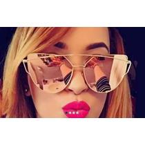 Óculos Feminino Espelhado Lançamento A Pronta Entrega