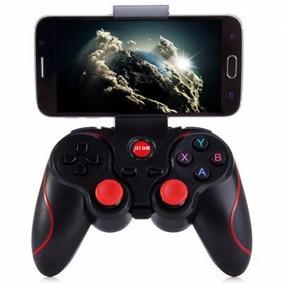 Control Bluetooth Gamepad Con Clip Celular Juegos Android
