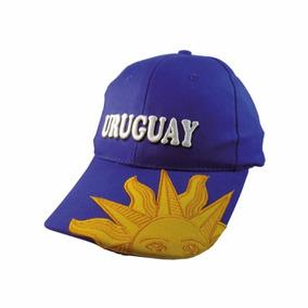 Gorro De Uruguay Sol Bordado Diseño Exclusivo - Disershop