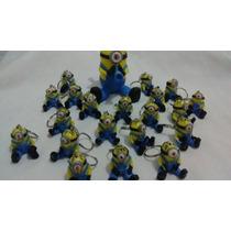 Minions Souvenirs 40 + 1 Central Con Llaveros Porcelana Fria