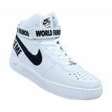 Promoção !tênis Unissex Nike Air Force Cano Longo Supreme