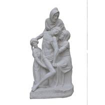 La Pietá 80 Cm Em Pó De Mármore - Iml169 Imagem Sacra