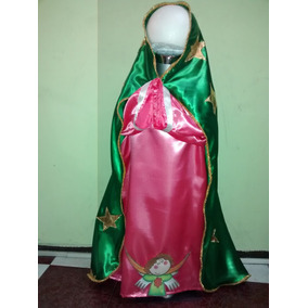 Traje Dizfraz De Virgen De Guadalupe