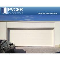 Portón Seccional De Garage Simil Madera 2,4 X 2,1 Mts Eeuu