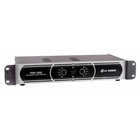 Amplificador Potência Ll Audio Pro 600 Frete Gratis 12 X
