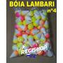 Boia Pesca Lambari Nº 4 - Pacote Com Com 100 Unidades