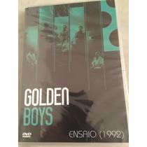 Dvd Golden Boys / Ensaio/ Tv Cultura /lacre De Fábrica, Orig