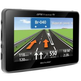 Navegador Gps Automotivo Multilaser Tracker Tv 4.3 Touch