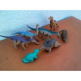 Lote X 7 Juguetes Mc. Donalds Dinosaurios