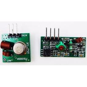 Módulo Rf Transmissor Receptor 433mhz + Ht12d + Ht12e