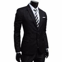 Saco Blazer Informal/formal Slim Envío Gratis