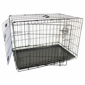 Gaiola Inox P/ Cachorros/gatos/roedores Desmontável 62x44x50