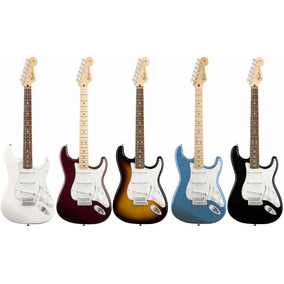 Fender Stratcocaster Standard Nuevas Mexico 21 Trastes Gtia