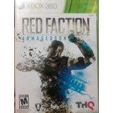 Red Faction Armageddon Xbox 360 Excelente Envio Gratis