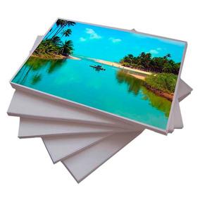 100 Folhas Papel Fotográfico A3 Glossy 180g