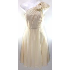 Vestido En Seda Ann Taylor - Fashionella- Xs(0) T9y2 T9y0