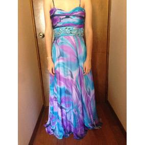Hermoso Vestido De Fiesta T. S, Graduación, Boda, Xv Años