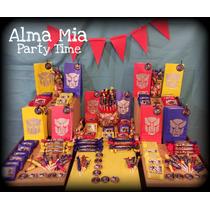 Candy Bar 30 Chicos. 180 Golosinas Personalizadas