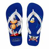 Chinelo Infantil Sonic The Hedgehog