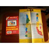 Aqui Esta . Regiones Y Provincias - Mapa Chile - 1977 Nro 35