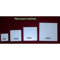 Placas Mdf Para Sublimar 15 X 15