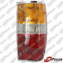 Lanterna Traseira Cromada Lado Direito L200 Gl/ Gls (91/07)