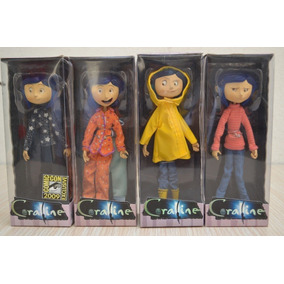 Coraline Figuras De Coleccion Neca Coleccion Completa Sdcc