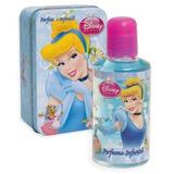 Dia Del Niño Princesas Cenicienta Cofre Bijou Perfume X 60ml