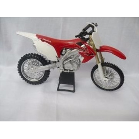 Miniatura Moto Crf 250 R 1:12 Motocross Velocross Promoção