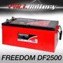Batería Freedom Df2500 Estacionaria Ciclo Profundo Libre Man