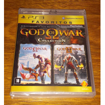 God Of War Collection 1 + 2 Mídia Física Original Ps3 Kratos