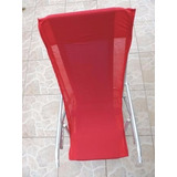 Capa Para Cadeira De Praia Conforto Em Tecido Macio