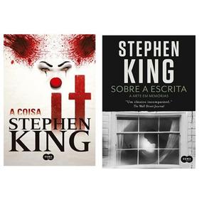 Livro - It A Coisa + Sobre A Escrita Stephen King Novo Lacra