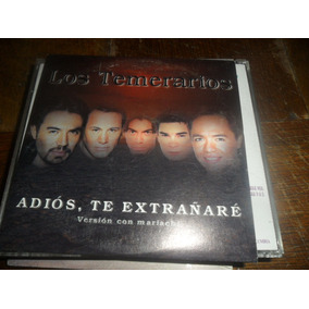 Cd Single Los Temerarios Adios Te Extrañare